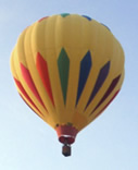 Sun Dancer hot air balloon in flight